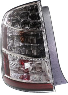 Replacement REPT730140  Tail Light - Clear & Red Lens, DOT, SAE compliant, Direct Fit