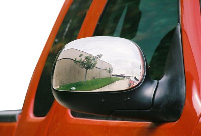TFP TFP509 Mirror Cover - Chrome, Plastic, Direct Fit