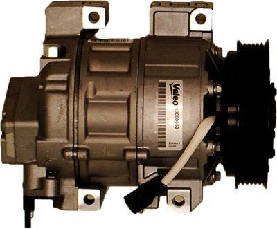 2007-2012 Nissan Sentra A/C Compressor Valeo Nissan A/C Compressor 10000659