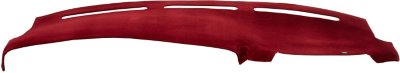 VelourMat VLM716770073 Dash Cover - Red, Velour, Mat, Direct Fit