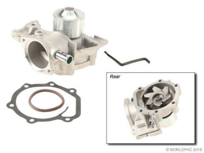 Paraut W0133-1619761 Water Pump - Direct Fit