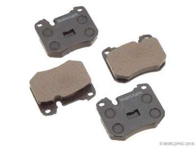 PBR W0133-1626118 Deluxe Brake Pad Set
