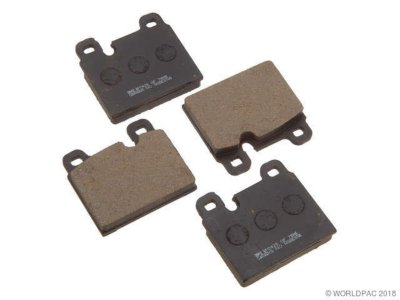 PBR W0133-1626853 Deluxe Brake Pad Set