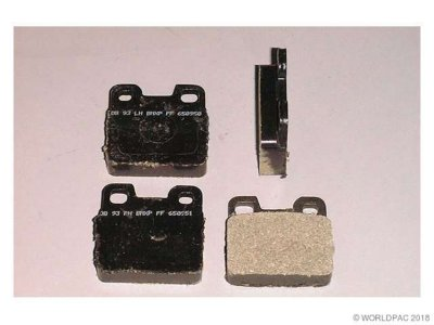 PBR W0133-1628037 Deluxe Brake Pad Set