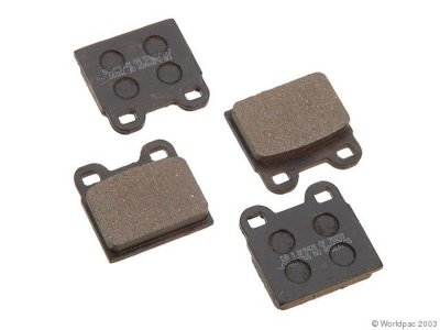 PBR W0133-1629753 Deluxe Brake Pad Set