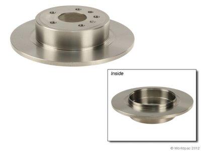 Zimmermann W0133-1783514 Brake Disc - Plain Surface