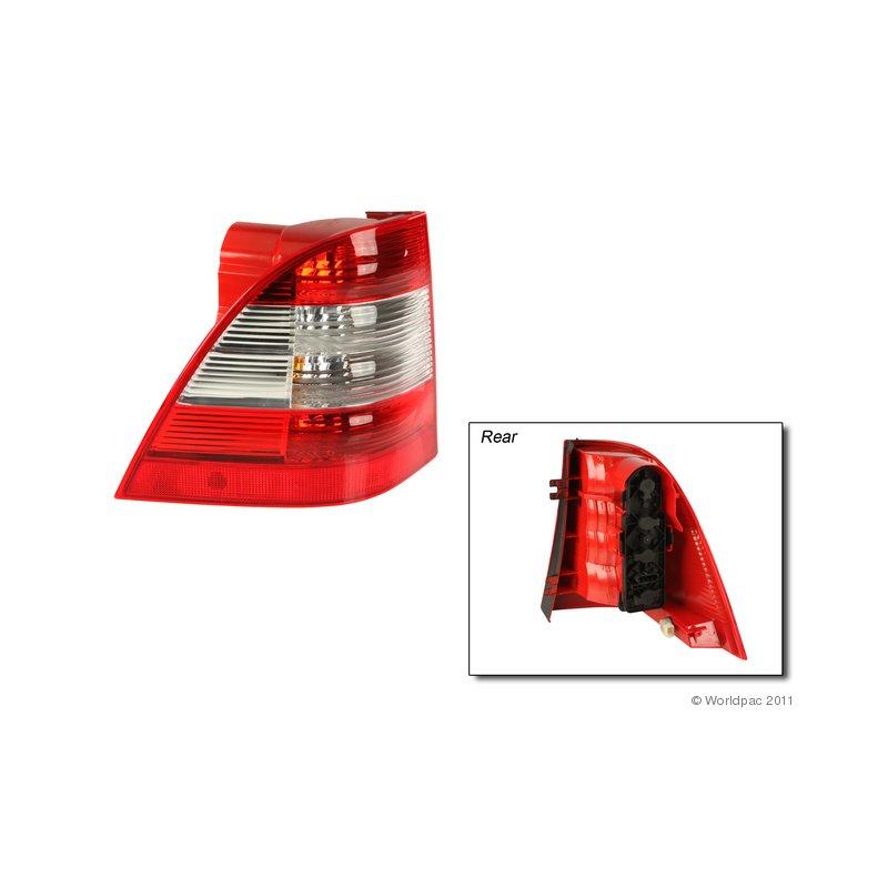 DNA Motoring TL-LED-W163-RD-SM Tail Light Driver /& Passenger Side