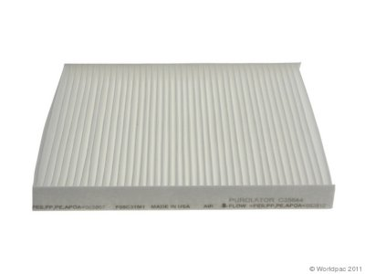 2003-2008 Pontiac Vibe Cabin Air Filter Purolator Pontiac Cabin Air Filter W0133-1917801 W0133-1917801