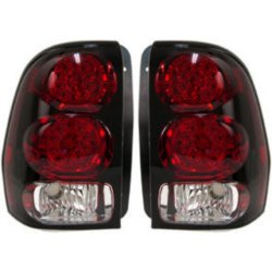Chevrolet Trailblazer Driver And Penger Side Tail Light With Bulb S