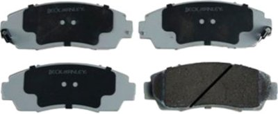 2007-2012 Acura RDX Brake Pad Set Beck Arnley Acura Brake Pad Set 085-1735