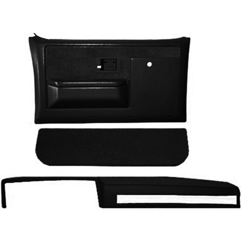 CVL18601CNBLK Coverlay Interior Restoration Kit abs plastic