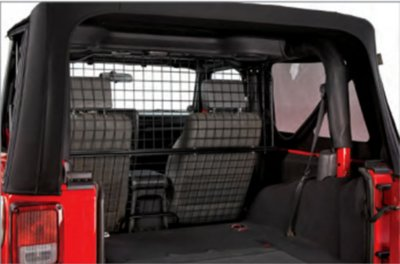 2007-2010 Jeep Wrangler (JK) Pet Divider Bestop Jeep Pet Divider 42502-01 D344250201