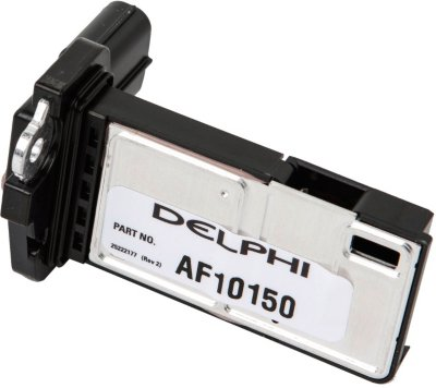 2007-2010 Chevrolet Silverado 2500 HD Mass Air Flow Sensor Delphi Chevrolet Mass Air Flow Sensor AF10150