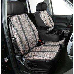 Elegant USA Saddle Blanket S 02914 01 Black 2 Tone Olefin Custom Fit Seat Cover