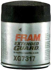 2003-2017 Acura MDX Oil Filter Fram Acura Oil Filter XG7317