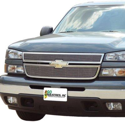 Image of 1998-2004 Chevrolet S10 Billet Grille Go Industries Chevrolet Billet Grille 85011