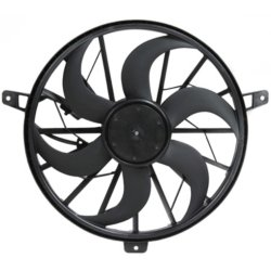 Jeep Grand Cherokee Oe Replacement Radiator Fan Fits 3 7l 4 0l W O Tow Pckg Excludes Shroud