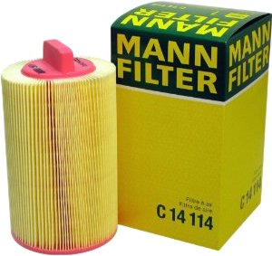 2003-2005 Mercedes Benz C230 Air Filter Mann-Filter Mercedes Benz Air Filter C14114