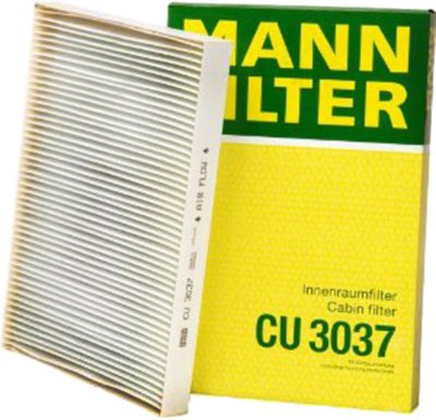 2002-2009 Audi A4 Cabin Air Filter Mann-Filter Audi Cabin Air Filter CU3037 MANCU3037