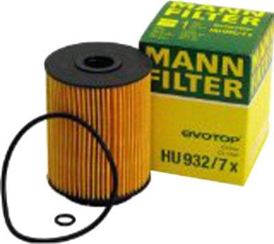 2001-2003 Audi A8 Quattro Oil Filter Mann-Filter Audi Oil Filter HU932/7X