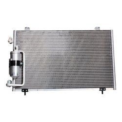 Kool Vue AC Condenser For 2003-2008 Pontiac Vibe 1.8L 4Cyl Eng w// Drier Aluminum
