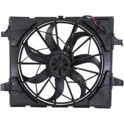 Oe Replacement Radiator Fan Fits 11 16 Durango Grand Cherokee W Std Duty Cooling 3 Ping Plug