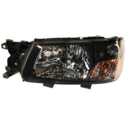 Driver Side Headlight With Bulb S 2003 2004 Subaru Forester