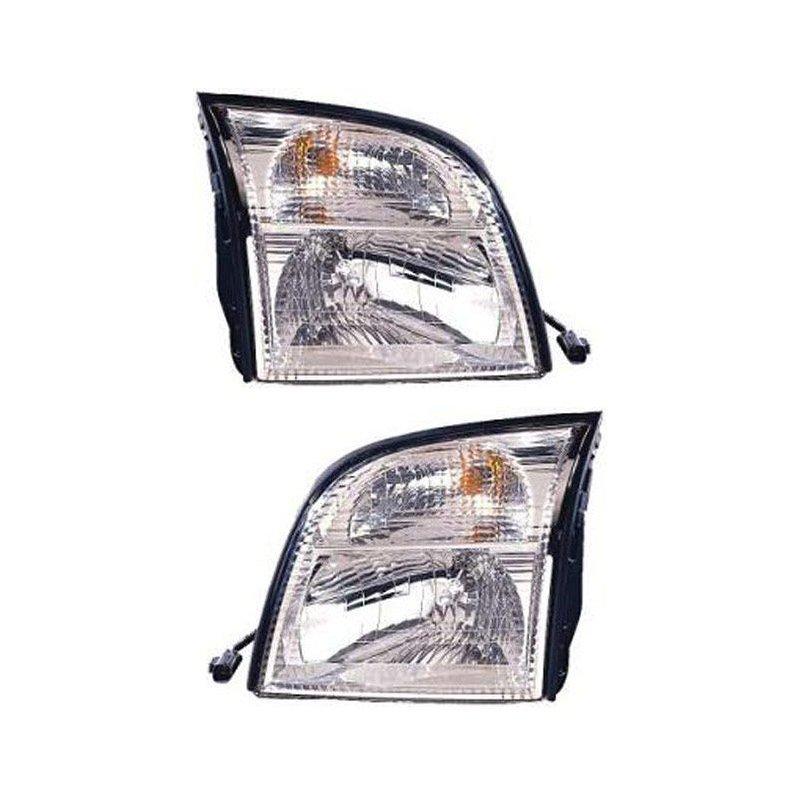 SET 3311186RAS Replacement Headlight 5l9z13008aa 5l9z13008ba Driver